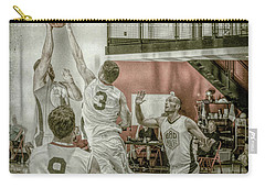 Carry-all Pouch featuring the photograph The Block by Ronald Santini