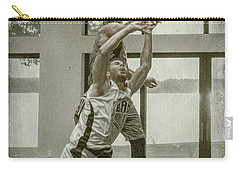 Carry-all Pouch featuring the photograph The Block Too by Ronald Santini