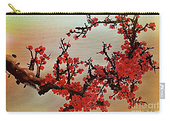 The Bloom Of Cherry Blossom Carry-all Pouch