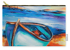 The Blue Boat Carry-all Pouch by Elise Palmigiani