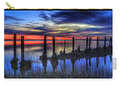 The Blue Hour Comes To St. Marks #2 Carry-all Pouch