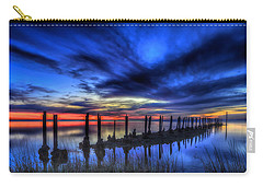 The Blue Hour Comes To St. Marks #1 Carry-all Pouch