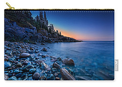 The Blue Hour On Little Hunter's Beach Carry-all Pouch