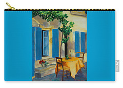 The Blue Shutters Carry-all Pouch