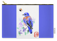 The Bluebird Sings  Carry-all Pouch