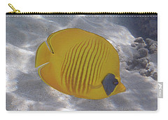 The Bluecheeked Butterflyfish Red Sea Carry-all Pouch