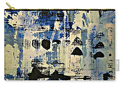 The Blues Abstract Carry-all Pouch