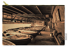 Carry-all Pouch featuring the photograph The Boat House  by Scott Carruthers