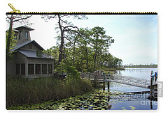 The Boathouse At Watercolor Carry-all Pouch