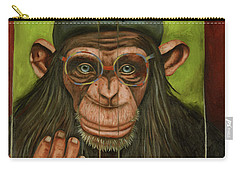 The Book Of Chimps Carry-all Pouch