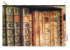 The Bookcase Carry-all Pouch by Isabella F Abbie Shores FRSA
