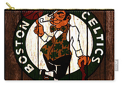 The Boston Celtics 2c Carry-all Pouch by Brian Reaves