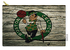 The Boston Celtics 2w Carry-all Pouch by Brian Reaves