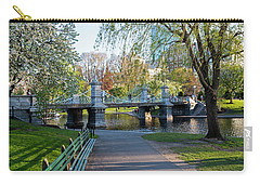 The Boston Public Garden In The Spring Boston Ma Carry-all Pouch