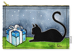 The Box Is Mine - Christmas Cat Carry-all Pouch