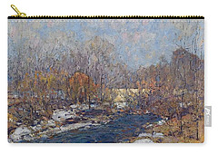The Bridge  Garfield Park  By William J  Forsyth Carry-all Pouch