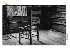 Carry-all Pouch featuring the photograph The Broken Chair by Doug Camara