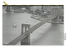 The Brooklyn Bridge From Above Carry-all Pouch