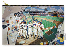 The Brooklyn Dodgers In Ebbets Field Carry-all Pouch