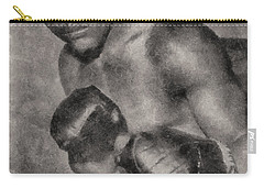 Carry-all Pouch featuring the photograph The Brown Bomber by Joseph Hollingsworth