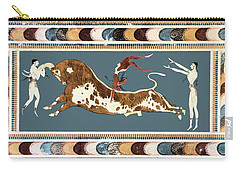 The Bull Of Knossos Carry-all Pouch by Unknown