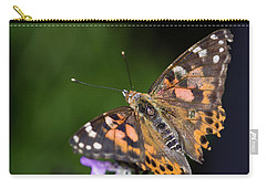 Carry-all Pouch featuring the photograph The Butterfly Effect by Alex Lapidus