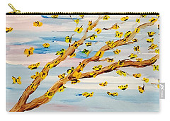 The Butterfly Tree Carry-all Pouch