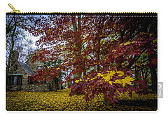 The Cabin In Autumn Carry-all Pouch