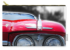 Carry-all Pouch featuring the photograph The Cadillac Way by Rebecca Davis