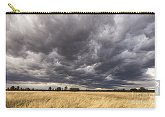The Calm Before The Storm Carry-all Pouch by Linda Lees