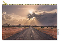 The Calm Before The Storm Carry-all Pouch by Racheal  Christian