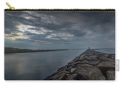 The Calm Before The Storm Carry-all Pouch by Steve Gravano