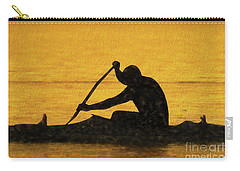 The Canoeist Carry-all Pouch by Scott Cameron