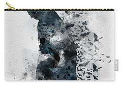 Television Mixed Media Carry-All Pouches