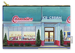 The Carnation Ice Cream Shop Carry-all Pouch