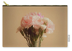 The Carnations Carry-all Pouch by Ernie Echols