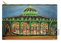 The Carousel Of Asbury Park Carry-all Pouch