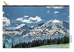 The Cascade Mountains And Mt. Rainier Carry-all Pouch