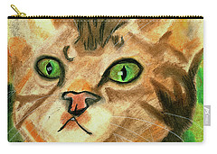 The Cat Face Carry-all Pouch