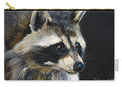 The Cat Food Bandit Carry-all Pouch by J W Baker