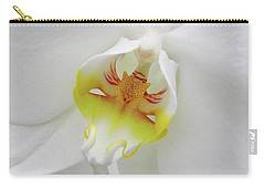 The Cat Side Of An Orchid Carry-all Pouch