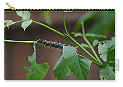 Carry-all Pouch featuring the photograph The Caterpillar 2 by Cendrine Marrouat