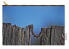 Carry-all Pouch featuring the photograph The Caterpillar by Cendrine Marrouat