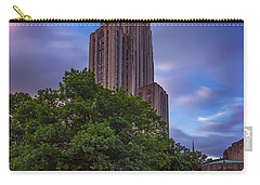 The Cathedral Of Learning Carry-all Pouch by Rick Berk