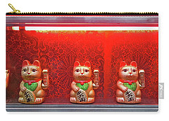 The Lucky Cats Carry-all Pouch