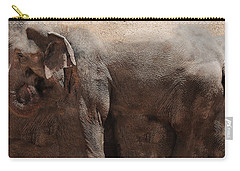 Carry-all Pouch featuring the digital art The Cave by Robert Orinski