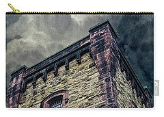 Carry-all Pouch featuring the photograph The Cell Block Restaurant by Greg Reed
