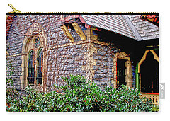 Central Park Dairy Cottage Carry-all Pouch by Sandy Moulder