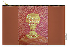 Carry-all Pouch featuring the painting The Chalice Or Holy Grail by Michele Myers