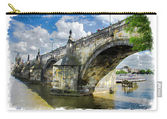 The Charles Bridge - Prague Carry-all Pouch